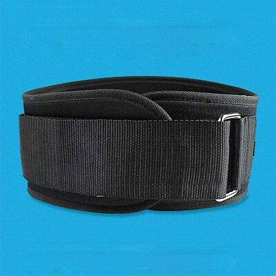 Adult Weight Lifting Belt Fitness Gym Workout Neoprene Double Support Brace #IN9