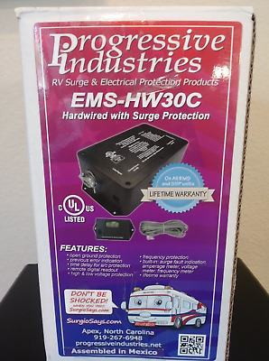 Progressive Industries EMS-HW30C Portable RV Electrical Management System 30 Amp