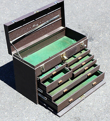 Kennedy Kits 7-Drawer Machinist Tool Chest Box 520 in Great Condition