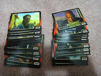 Star Wars Episode 1 Collector Trading Cards Set