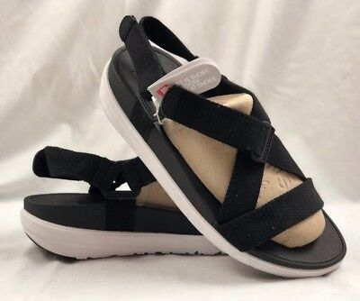 bf68906ff FITFLOP SLING SANDALS Black Women s 10 -  40.00