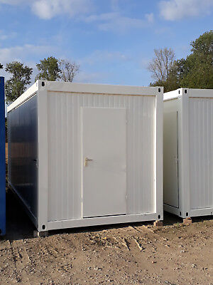 Bürocontainer Lagercontainer 20 Fuss 6m x 2,5m