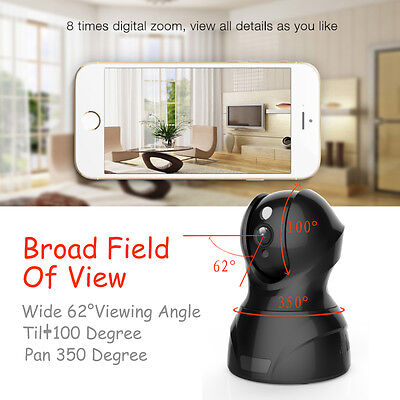 HD Wireless IP Outdoor IR Video Surveillance Security Camera System Home Monitor