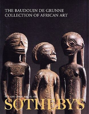TRIBAL ART - AFRIKA: Sotheby's N.Y. 2000 +results