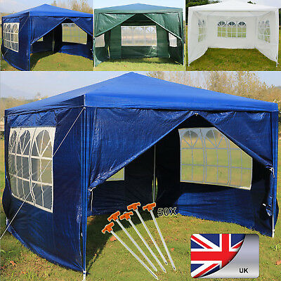 Gazebos Full Sides Gazeebo Party Tent Events Shelters Marquee Gazibo Waterproof