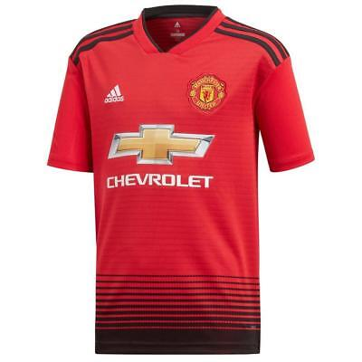 53cc6a17dfd adidas Manchester United FC 2018 19 Home Shirt Junior