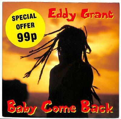 "Eddy Grant - Baby Come Back - 7"" Record Single"