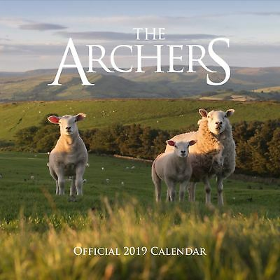 The Archers Official 2019 Wall Calendar New & Sealed