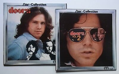 2 LPs: The Doors: Star-Collection + Star-Collection Vol. 2 (Midi)