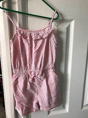 girls george playsuit age 2-3
