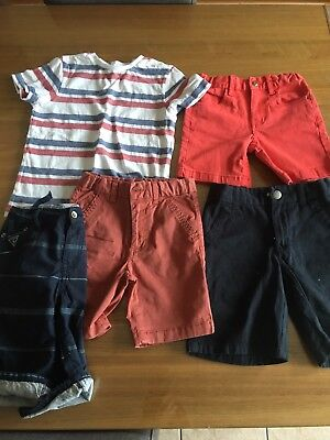 Bulk kids Boys Summer Clothes Size 4 5 6 Shorts Top Indie Guess Gymboree