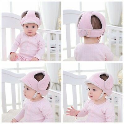 Infant Baby Boys Girls Head Protector Helmet Toddler Outdoor Walking Safety Hat