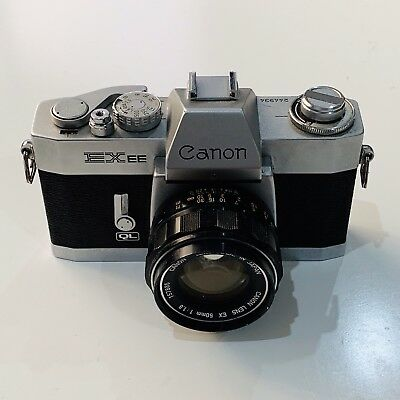 Canon EXEE with EX50mm f/1.8
