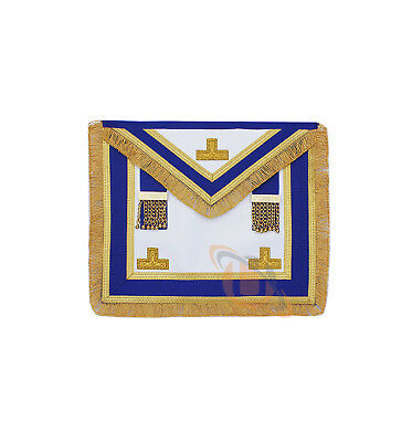 Masonic Craft Provincial Full Dress Apron in Real leather