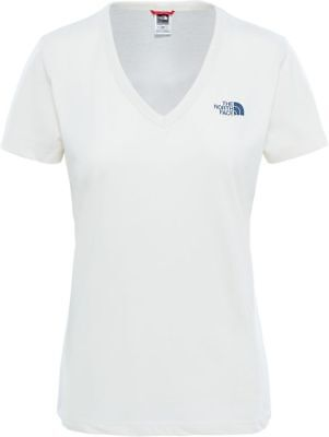 THE NORTH FACE TNF Simple Dome T0A3H64PK Cotton T-Shirt Short Sleeve Tee Womens