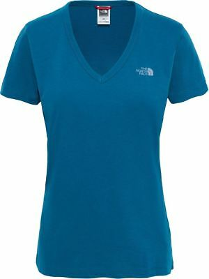 THE NORTH FACE TNF Simple Dome T0A3H6EFS Coton T-Shirt Manches Courtes Femme