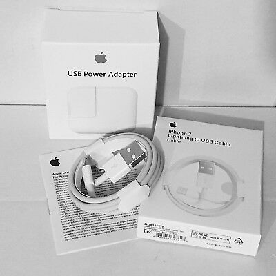 OEM 12W USB Power Adapter Wall Charger for Apple iPad 4 Air Pro +Lightning Cable