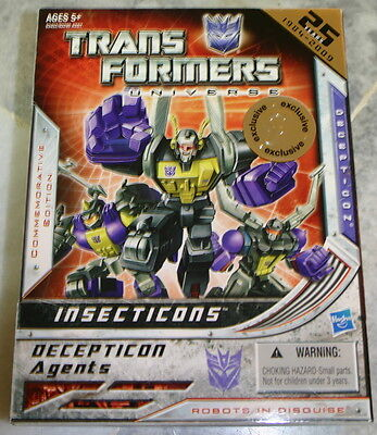 Hasbro Transformers INSECTICONS G1 Commemorative Book Reissue Toysrus Exclusive