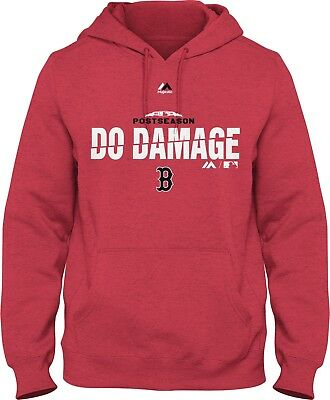 Sale Boston Red Sox Hoodie Sweatshirt Red Sox Do Damage 2018 Full Size Fast Ship