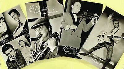 TAKKEN - 1950s Film/Music Star Postcards issued in Holland #AX3736 to #AX3853
