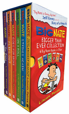 Big Nate Big Six-Book Set 6 Book Collection Lincoln Peirce The Boy with the Bigg