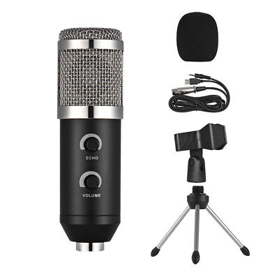 Professional Studio Condenser Microphone Computer PC Online Chatting Live Mic