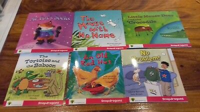 Oxford Reading Tree snapdragons Collection level 4  J. Donaldson x 6 Books