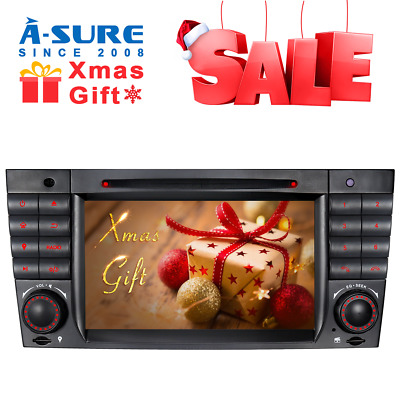 For Mercedes Benz C Class CLK CLC AMG W209 W203 DAB+ Car Stereo DVD GPS sat nav