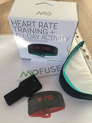 MiO FUSE Pulsmesser Armband Tracker Heart Rate Training + All day Activity