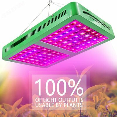 240/480/720/960W LED Grow Full Spectrum with VEG BLOOM Switches Plant Grow Light