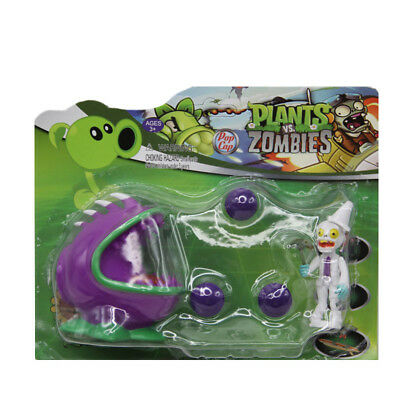 Plants vs Zombies PVZ Chomper ABS Shooting Bullets Figure Toy Gift for Kids