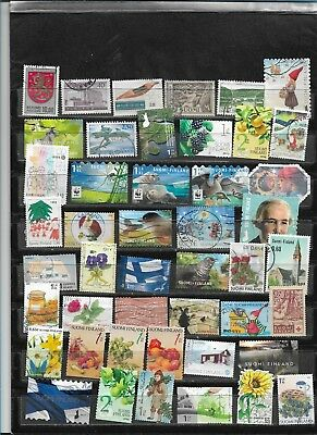 Finland Large 46 Different Used