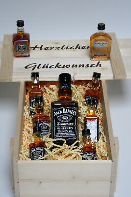 Jack Daniels Whiskey 1 X 0 35l 6 X 5cl Je1x 5cl Single Barrel