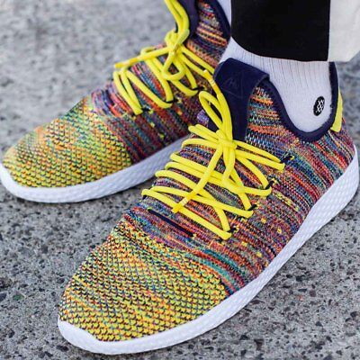 Adidas Pharrell Williams Tennis HU WeißGelb B41806