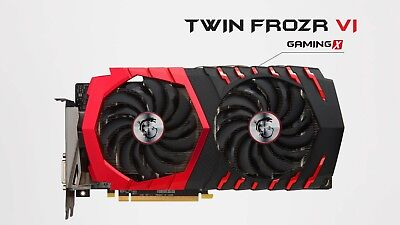 MSI RX 470 8gb gaming X GPU graphics card