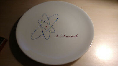 Rare & Significant dinner plate from the NS Savannah, Serious Collector Item