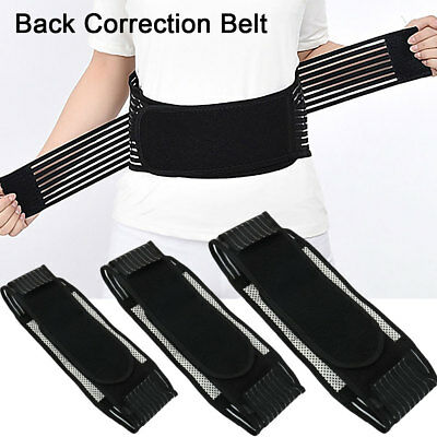 Tourmaline Self Heating 20 Magnetic Therapy Backache Lower Back Support Belt CA