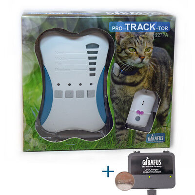 Girafus Pro-track-tor Pet Tracker RF Technology Dog and Cat Locator Finder