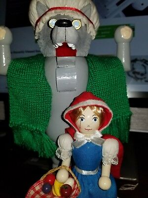 """Nutcracker Village 10th Anniversary Collection """"Little Red Riding Hood"""" 1 Of 15"""