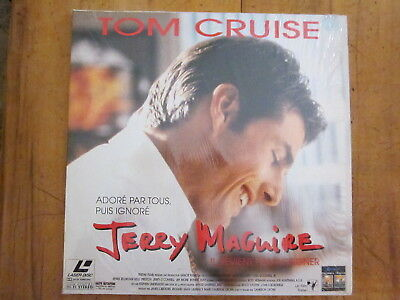 Laser disque avec Tom Cruise Jerry Maguire