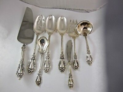 Eloquence By Lunt Sterling Silver Serving Set ( No Monogram)