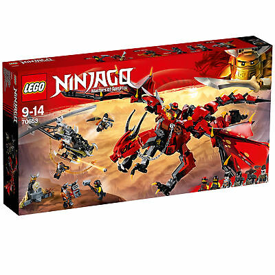 70653 LEGO Ninjago Firstbourne 882 Pieces Age 9+ New Release For 2018!