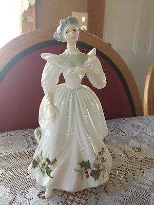 Royal Doulton 1987 Bone China Figurine Month Lady December HN2696