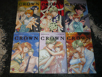 •○● ☆☆☆CROWN  Carlsen Manga von Shinji Wada und You Higuri 1-6☆☆☆ ●○•