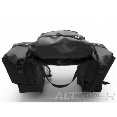 AltRider Hemisphere Soft Motorcycle Panniers - Center Exhaust