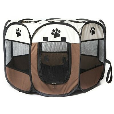 Play Pen Large Medium Sizes Puppy Dog Friendly Safe & Soft Area Fence Cage