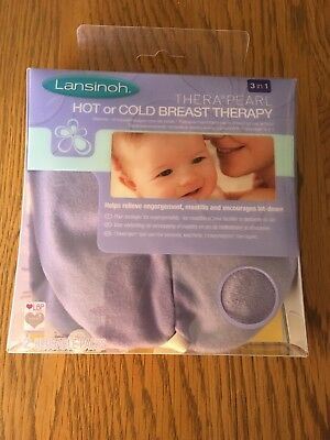 Lansinoh TheraPearl 3-in-1 Hot or Cold Breast Therapy Pre-owned Very Good Con