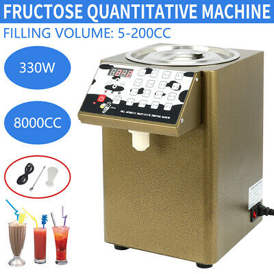 Fructose Quantitative Machine Fructose Dispenser Bubble Tea Equipment 330W 110V