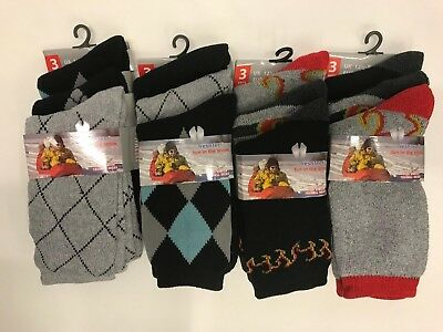 KIDS Ultimate Thick Hot Winter Warm Thermal Heat Comfort Socks All Sizes Lot