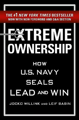 NEW Audio Book Extreme Ownership by Jocko Willink Unabridged 2015 A CD